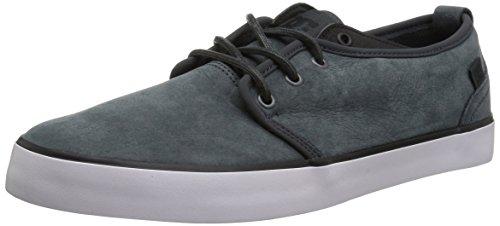 DC Men Studio 2 LX Skate Shoe, Grey/Black, 12 D D US
