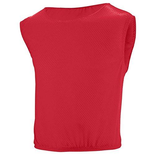 (Augusta Activewear Scrimmage Vest, Red, XX Large)