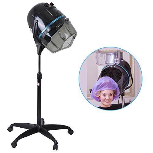 Floor Stand Hair Bonnet Dryer, Adjustable Swivel Hood and He