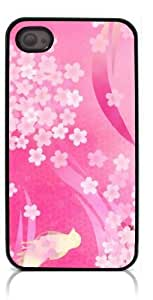HeartCase Hard Case for Iphone 4 4G 4S (Wisedeal Retro Stripe Flower )