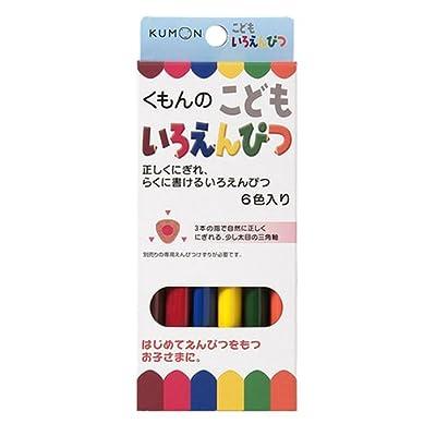 Kumonshuppan Children Colored Pencil (Japan Import): Toys & Games [5Bkhe0306196]