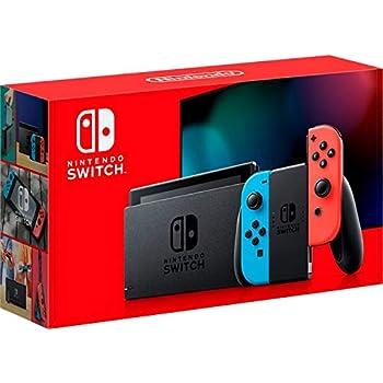 Nintendo Swap with Neon Blue and Neon Crimson Pleasure‑Con – HAC-001(-01)