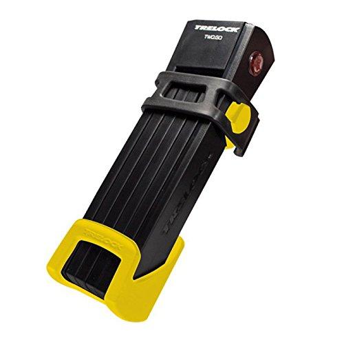 Trelock candado Plegable FS 200-100 Two Go, Soporte/Soporte Amarillo, 8004174