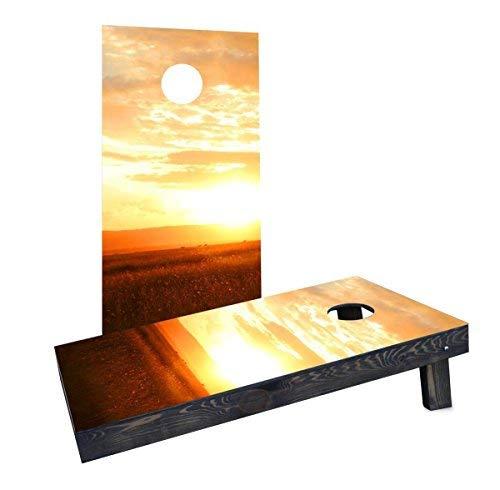 【在庫処分大特価!!】 Custom Cornhole Boards Incorporated Sunset CCB383-2x4-AW-RH Sunset Boards CCB383-2x4-AW-RH Cornhole Boards [並行輸入品] B07HLNXWJ8, 自転車通販 VIKING BIKE SHOP:60b01358 --- arianechie.dominiotemporario.com