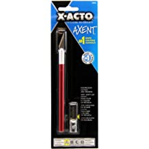 Elmers/X-Acto X3036 Axent Knife with Cap, Red