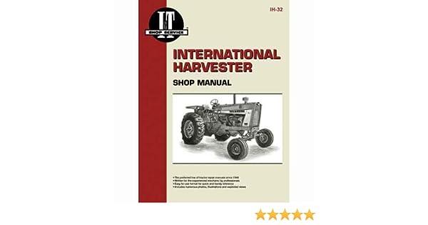 I&T Shop Manual - IH-32 Harvester (Farmall) International 2806 2806 Farmall Wiring Diagram on