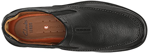 On Black Slip CLARKS Loafer Easy Leather Men's Untilary q6qOIP