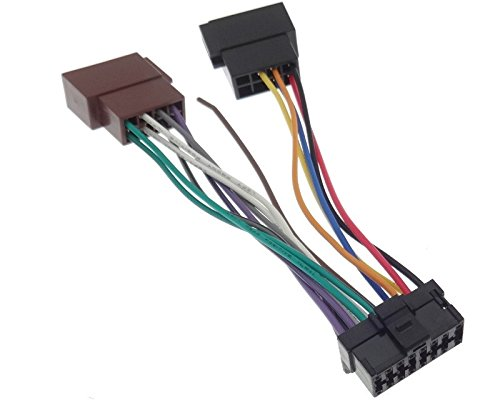 PIONEER (11) Autoradio Kabel Radio Adapter Stecker ISO ...
