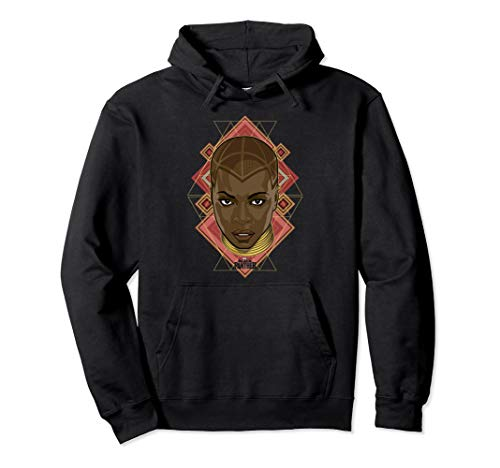 Marvel Black Panther Movie Okoye Prism Face Graphic Hoodie