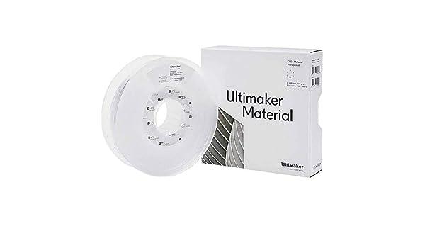 Ultimaker - Filamento para Impresora 3D 1643 CPE Resistente a los ...