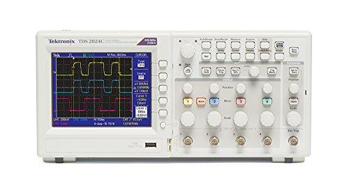 Oscilloscope Manual Tektronix (Tektronix TDS2024C 200 MHz, 4 Analog Channel, Oscilloscope, 2 GS/s Sampling,)
