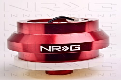 - NRG Short Steering Wheel Hub Adapter (Boss) Kit - Acura Integra 94-01 - RED - New - Part # SRK-110H-RD1