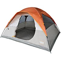 Timber Ridge 6 Person Family Camping Tent, D-Shape Door,...