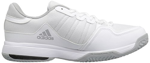 adidas Performance Herren Barricade Court 2 Tennisschuh Weiß / Schwarz / Hell Onix