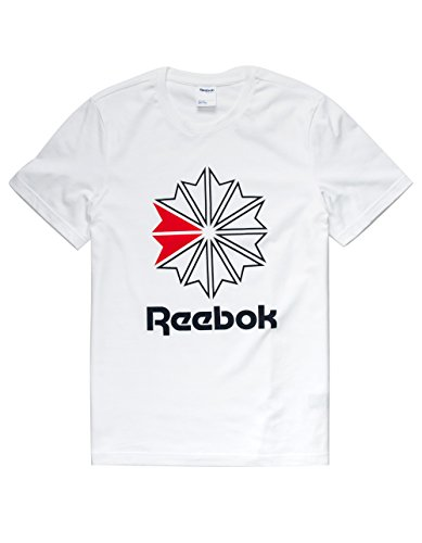 Reebok Classics Graphic Tee, White, Medium