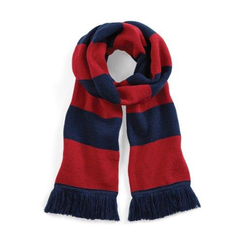 - Beechfield Varsity Unisex Winter Scarf (Double Layer Knit)