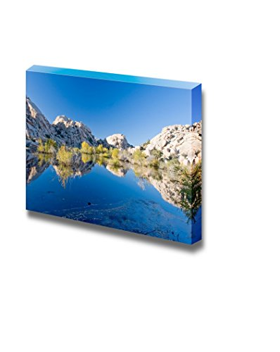 Beautiful Scenery Landscape Barker Dam Joshua Tree National Park California Wall Decor ation