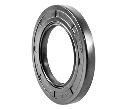 Oil Seal 45X75X8 Oil Seal Grease Seal TC |EAI Rubber Double Lip w/Garter Spring 45mmX75mmX8mm | 1.772