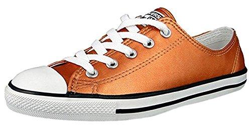Converse Ct Come Delicata Lavanda Sneaker In Pelle Metallizzata Bue Damen