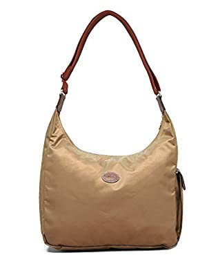 Longchamp Nylon Shoulder Hobo Handbag - Le Pliage