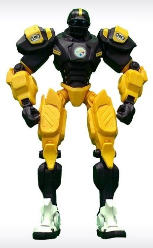"""Pittsburgh Steelers 10"""" Team Cleatus FOX Sports Robot Version 2.0"""