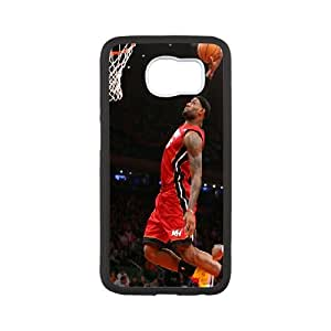 Samsung Galaxy S6 Custom Cell PhoneCase Lebron James Case Cover WQFF33362
