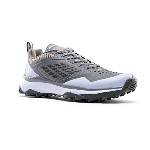 Boombah Men's Marauder Turf Shoes - 8 Color Options - Multiple Sizes Gray/Charcoal discount countdown package for cheap price buy cheap fake OOcycE