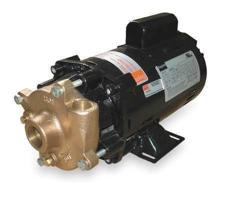 Dayton 2zwr4 Pump, Centrifugal, 1/3 Hp, 1 Ph, 115/230v