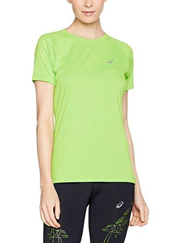 Asics Stripe Women's Correr T-Shirt - SS16 Verde