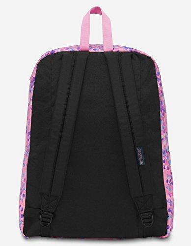 JanSport Unisex Superbreak Classic Ultralight Backpack Pink Sparkle Dot by JanSport (Image #2)