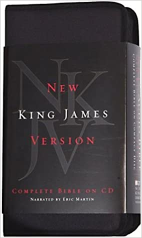 NKJV Complete Audio Bible Martin on CD-Complete New King