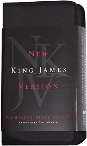 Martin Audio - NKJV Complete Audio Bible Martin on CD-Complete New King James Version Audio Holy Bible on 60 CDs-The Word of God-Audio and New Testament Home School