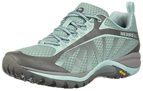(Merrell Women's Siren Edge Hiking Shoes, Bleached Aqua, 9)