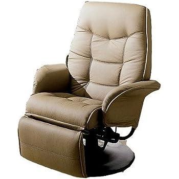 New Tan RV Motorhome Swivel Recliner Captians Chair