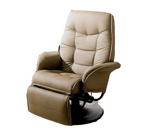 New Tan Theater Seating / Gaming Recliner Chair