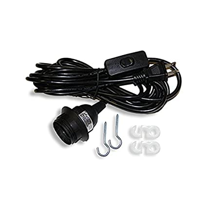 Wallniture pendant lamp cord set with on off switch 15 feet black wallniture pendant lamp cord set with on off switch 15 feet black aloadofball Image collections