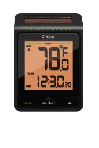 Oregon Scientific EMR801 Helios Solar Powered Wireless Thermometer