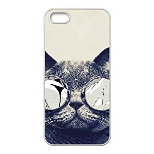 cat 63 iPhone 4 4s Cell Phone Case White yyfD-060890