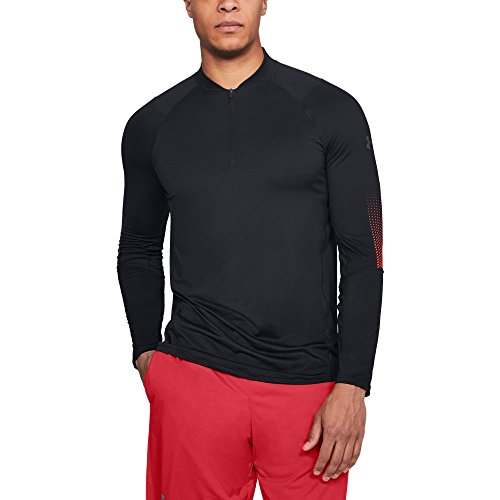 - Under Armour Men's MK-1 ¼ Zip Graphic, Anthracite (016)/Stealth Gray, Small