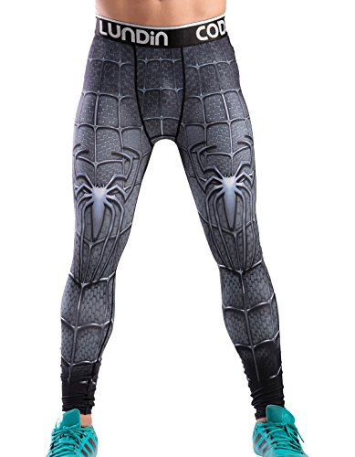 Red Plume Compression Leggings Printing