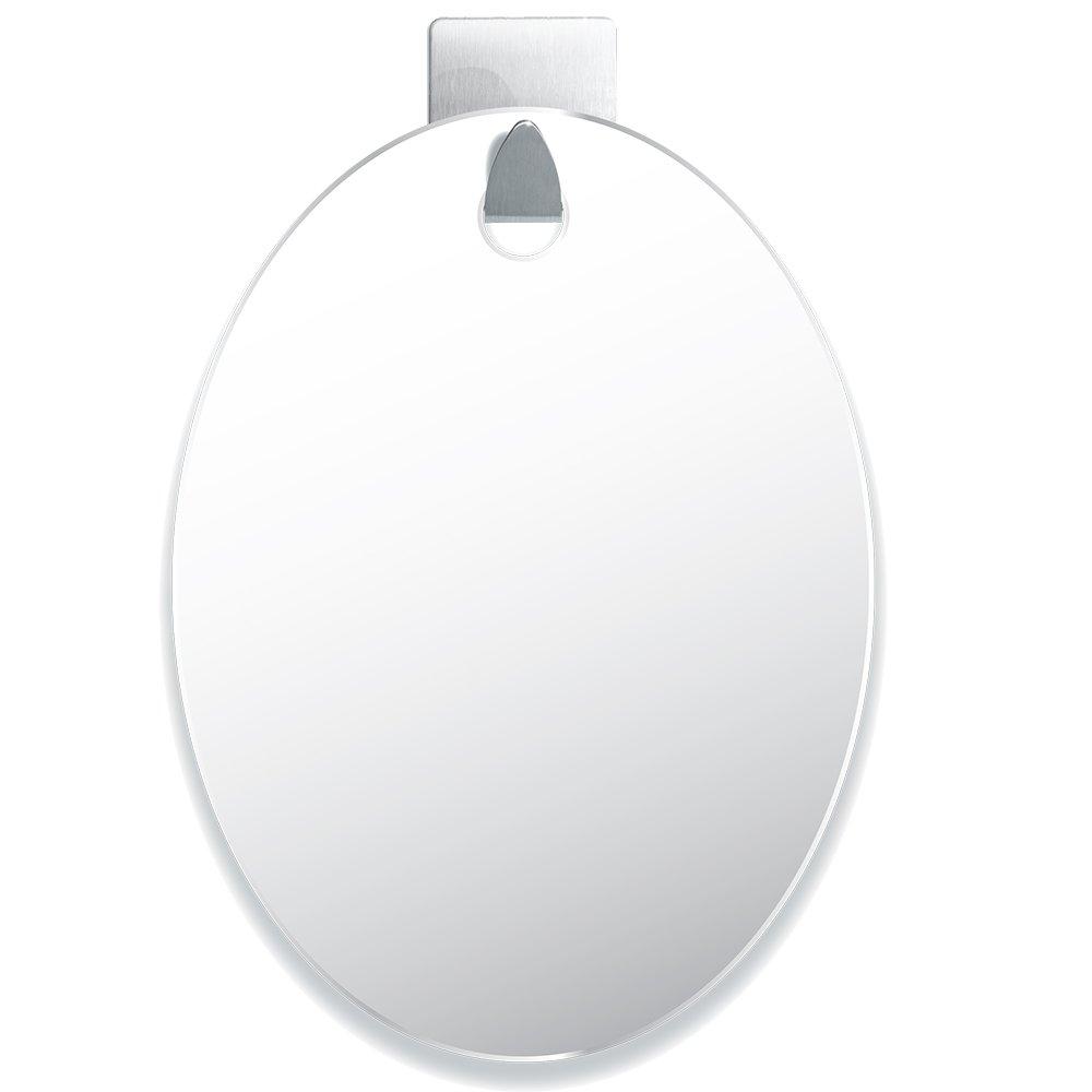 Amazon.com : Fogless Shower Mirror   EASY INSTALL   SHATTER PROOF    Includes Razor Hook   Modern   Anti Fog Nanotechnology   Exclusive To  Amazon : Beauty