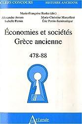 Economies et sociétés Grèce ancienne : 478-88