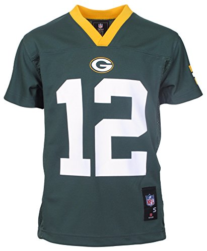 Green Bay Packers Aaron Rodgers Green Youth NFL Jersey Youth XL