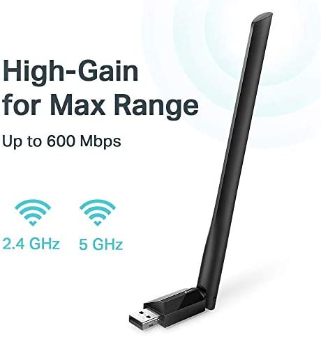 TP-Link USB Wifi Adapter for PC AC600Mbp