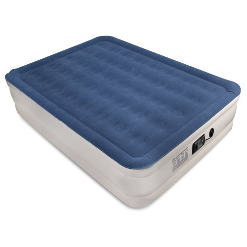 SoundAsleep Dream Series Air Mattress with ComfortCoil Technology & Internal High Capacity Pump - Queen Size - Inflatable Air Bed