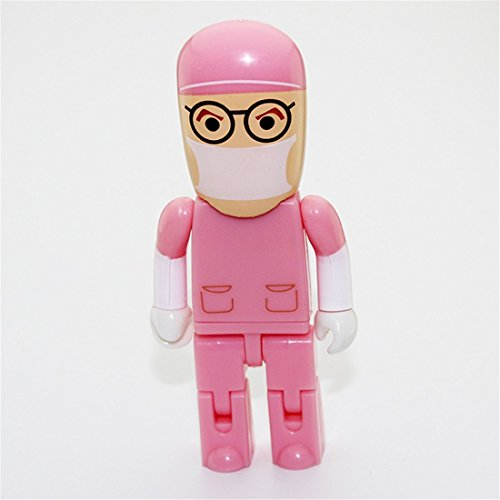 Doctor Cartoon 8 gb Flash drive Pink