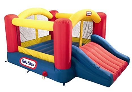 Amazon.com: Little Tikes – Jump & Slide Bouncer (suspendido ...