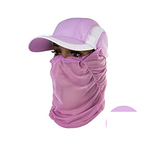 Hats for Women/Summer outdoor neck mask/Sun Hat/Sun Hat/Visor cap /Baseball Cap-B by HUWEQAZNMKF