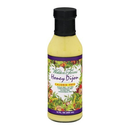 Walden Farms Sugar Free Honey Dijon Dressing, 12 fl oz, pack of 1