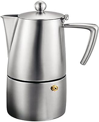 Amazon.com: Cuisinox Milano Espresso cafetera, Acero ...